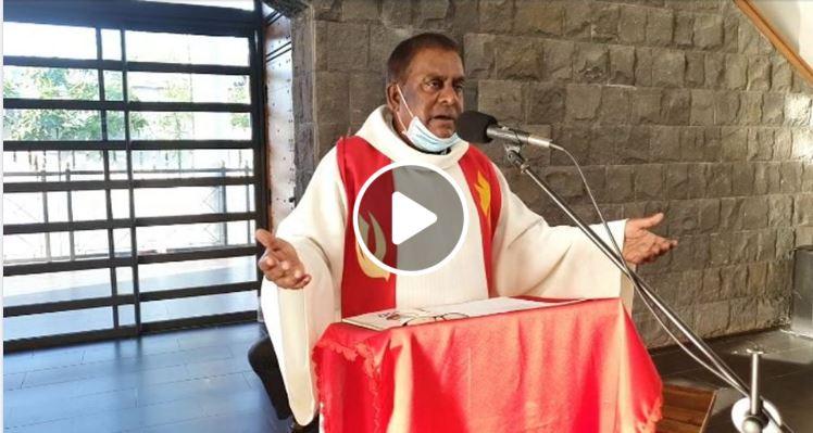 En direct du caveau du Père Laval en ce dimanche 13 Juin 2021 pour la 8ème session de prière