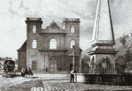 Histoire de l'église à Maurice